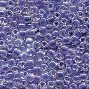 Miyuki Dreieck Perlen, Triangle Beads 2,5mm 1123 colorlined Purple 13gr