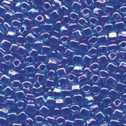 Miyuki Dreieck Perlen, Triangle Beads 2,5mm 1829 colorlined Light Blue Violet 13gr