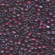 Miyuki Dreieck Perlen, Triangle Beads 2,5mm 1834 colorlined Light Rose Raspberry 13gr