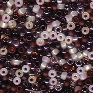 Miyuki Rocailles Perlen 2mm Mix13 Pebblestone ca 24 Gr.
