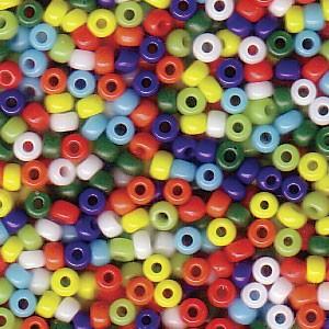 Miyuki Rocailles Perlen 2mm Mix37 Opaque Rainbow ca 24 Gr.