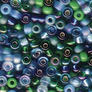 Miyuki Rocailles Perlen 3mm Mix06 Lagoon ca 22gr