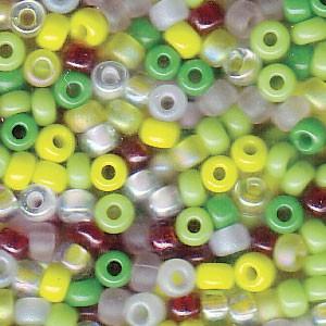 Miyuki Rocailles Perlen 3mm Mix09 Lemonade ca 22gr