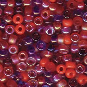 Miyuki Rocailles Perlen 3mm Mix10 Melonberry ca 22gr