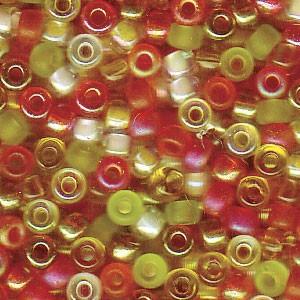 Miyuki Rocailles Perlen 3mm Mix19 Tango ca 22gr