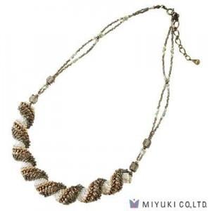 Miyuki Bead Jewelry Kit BFK 135 Dutch Spiral Southern Wind Necklace