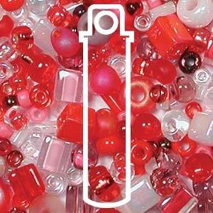 Beadsoup Perlensuppe MIX 05 ca 22gr  Strawberry Fields