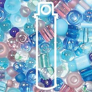 Beadsoup Perlensuppe MIX 11 ca 22gr  Carribean Blue