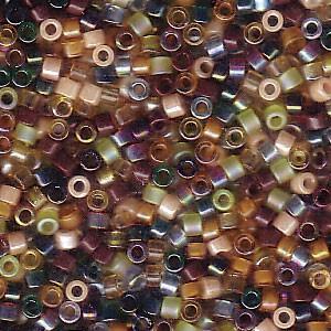 Miyuki Delica Perlen 1,6mm Mix07 Earthtone 7,2 Gr.