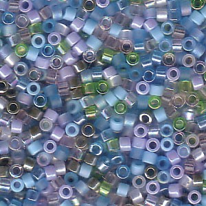 Miyuki Delica Perlen 1,6mm Mix08 Serenity 7,2 Gr.