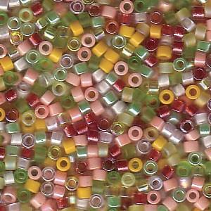 Miyuki Delica Perlen 1,6mm Mix09 Lemonade 7,2 Gr.