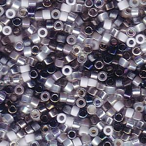 Miyuki Delica Perlen 1,6mm Mix12 Apparition 7,2 Gr.