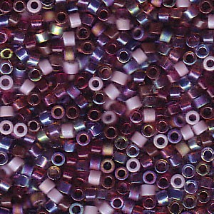 Miyuki Delica Perlen 1,6mm Mix18 Vineyard 7,2 Gr.