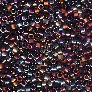 Miyuki Delica Perlen 1,6mm Mix23 Heavy Metals 7,2 Gr.