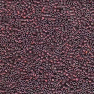 Miyuki Delica Perlen 1,6mm DB1012 Luster med Raspberry 5gr