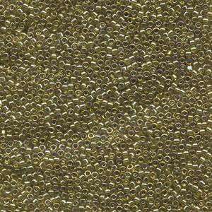 Miyuki Delica Perlen 1,3mm DBS0124 transparent luster Chartreuse 5gr