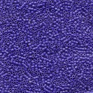 Miyuki Delica Perlen 2,2mm DBM0361 metallic matte Sapphire Blue 7,2 Gr.