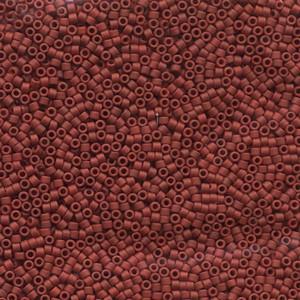 Miyuki Delica Perlen 1,6mm DB0378 metallic matte Dark Red 5gr
