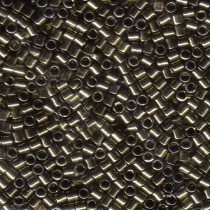 Miyuki Delica Perlen 3mm DBL0022 metallic Bronze ca 6,8 Gr.