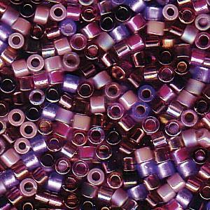 Miyuki Delica Perlen 2,2mm Mix01 Lilacs 7,2 Gr.