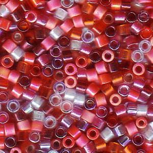 Miyuki Delica Perlen 2,2mm Mix05 Strawberry Fields 7,2 Gr.