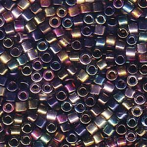 Miyuki Delica Perlen 2,2mm Mix23 Heavy Metals 7,2 Gr.