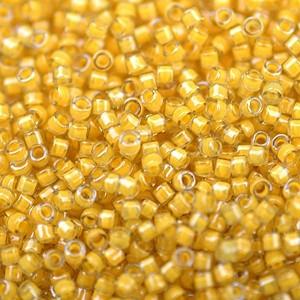 Miyuki Delica Perlen Neon 1,6mm DB2041 luminous Honeycomb ca 5gr