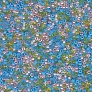 Miyuki Rocailles Perlen 2mm Mix08 Serenity ca 24 Gr.