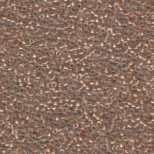 Miyuki Rocailles Perlen 2,2mm 0234 oder 9660-664 metallic goldlined Crystal ca 10gr