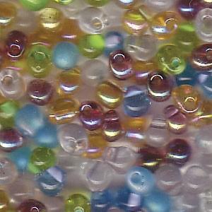 Miyuki Tropfen Perlen 3,4mm Mix20 Prarie ca 25gr.