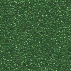 Miyuki Rocailles Perlen 2mm 0144 transparent Light Green 12gr