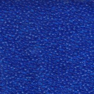 Miyuki Rocailles Perlen 2mm 0150 transparent Sapphire Blue 12gr