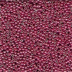 Miyuki Rocailles Perlen 1,5mm 0425 opaque luster Burgundy ca 11gr