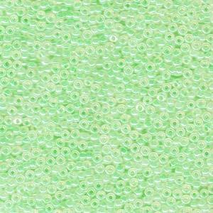 Miyuki Rocailles Perlen 1,5mm 0520 ceylon Mint Green ca 11gr