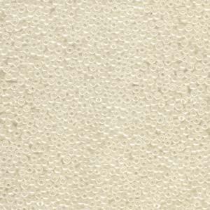Miyuki Rocailles Perlen 2mm 0592 ceylon Ivory 12gr