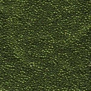 Miyuki Rocailles Perlen 1,5mm 0459 metallic Olive ca 11gr