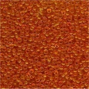 Miyuki Rocailles Perlen 2mm 0137 transparent Light Orange 12gr