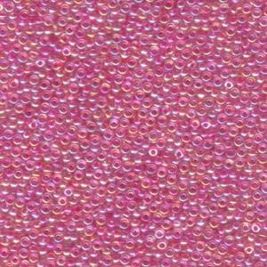 Miyuki Rocailles Perlen 3mm 0355 fancy Fuchsia-Gold ca 13gr