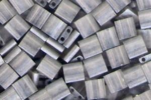 Miyuki Tila Perlen 5mm Transparent Auster Luster TL3173 7,2gr