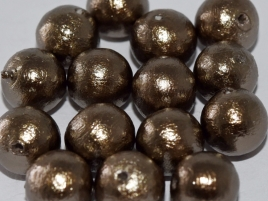 Miyuki Cotton Perlen 10mm J689 Bronze 10 Stück